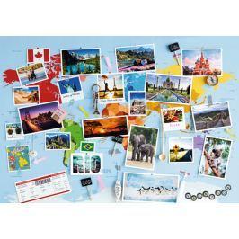 RAVENSBURGER Puzzle Cestovní vzpomínky 1000 dílků
