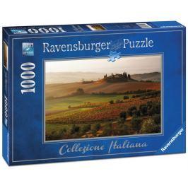 RAVENSBURGER Puzzle  1972 San Quirico d'Orcia, Itálie 1000 dílků