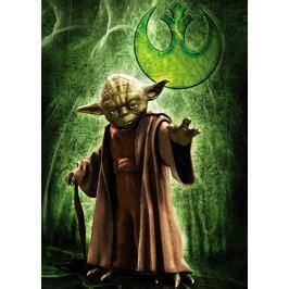 RAVENSBURGER Puzzle  1000 dílků - Star Wars: Yoda