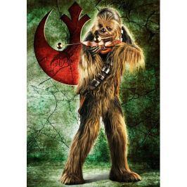 RAVENSBURGER Puzzle  1000 dílků - Star Wars: Chewbacca