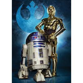 RAVENSBURGER Puzzle  19682 Star Wars: R2-D2 a C-3PO 1000 dílků