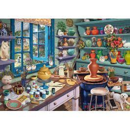 RAVENSBURGER Puzzle Koutek s keramikou 1000 dílků