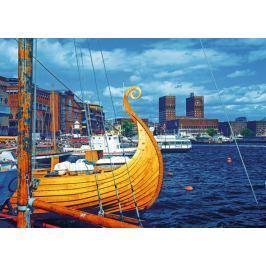 RAVENSBURGER Puzzle Oslo, Norsko 1000 dílků