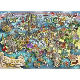 RAVENSBURGER Puzzle Divy Evropy 1000 dílků