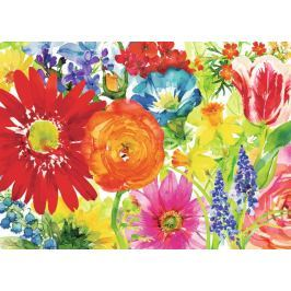RAVENSBURGER Puzzle Bohaté květy 1000 dílků