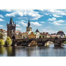RAVENSBURGER Puzzle  19742 Pohled na Karlův most, Praha 1000 dílků