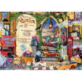 RAVENSBURGER Puzzle Vzpomínky na Londýn 1000 dílků