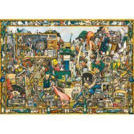 RAVENSBURGER Puzzle  19760 Včerejší poklady 1000 dílků