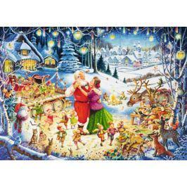 RAVENSBURGER Puzzle Vánoční večírek 1000 dílků
