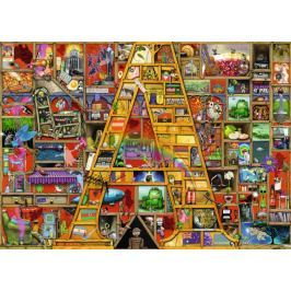 RAVENSBURGER Puzzle Úžasná abeceda - písmeno A 1000 dílků