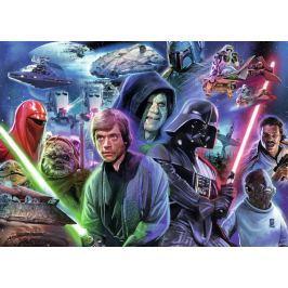 RAVENSBURGER Puzzle Star Wars: Návrat Jediů 1000 dílků