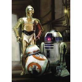 RAVENSBURGER Puzzle Star Wars: C3PO, R2-D2 a BB-8 1000 dílků