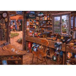RAVENSBURGER Puzzle Dědečkova kůlna 1000 dílků