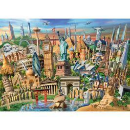 RAVENSBURGER Puzzle Světové památky 1000 dílků