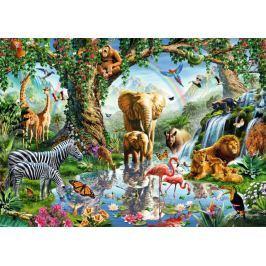 RAVENSBURGER Puzzle Dobrodružství v džungli 1000 dílků