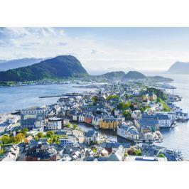 RAVENSBURGER Puzzle ?lesund, Norsko 1000 dílků