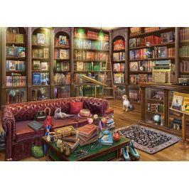 RAVENSBURGER Puzzle Knihovna 1000 dílků