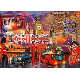 RAVENSBURGER Puzzle Londýnské památky 1000 dílků