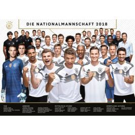 RAVENSBURGER Puzzle Národní fotbalový tým Německa 2018, 1000 dílků