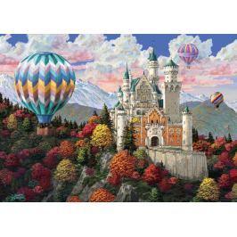RAVENSBURGER Puzzle Snění o zámku Neuschwanstein 1000 dílků