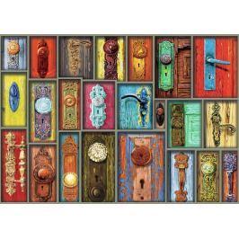 RAVENSBURGER Puzzle Antické dveřní kliky 1000 dílků