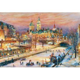 RAVENSBURGER Puzzle Zimní festival v Ottawě 1000 dílků
