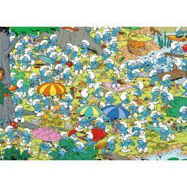 RAVENSBURGER Puzzle Šmoulové: Piknik v parku 1000 dílků