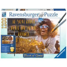 RAVENSBURGER Puzzle Touch of Gold Ukaž lásku 1200 dílků