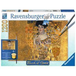 RAVENSBURGER Puzzle Touch of Gold Zlatá Adéla - Portrét Adele Bloch-Bauer 1200 d
