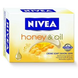 Nivea Krémové tuhé mýdlo Honey Oil (Creme Soap) 100 ml