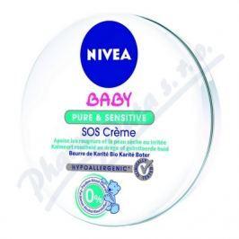 Nivea Baby Nutri sensitive SOS krém 150ml 80523