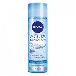 Nivea Osvěžující čistící pleťový gel Aqua Sensation (Invigorating Cleansing Gel) 200 ml