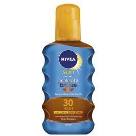 BEIESDORF Nivea Olej na opalování ve spreji podporující zhnědnutí SPF 30 Sun (Protect & Bronze Oil) 200 ml
