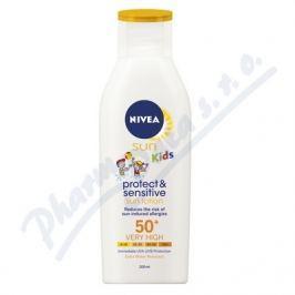 BEIESDORF NIVEA SUN Dětské mléko opalov. Sensit. OF50+ 200ml
