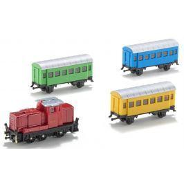 SIKU 6291 Sada: Lokomotiva s vagóny