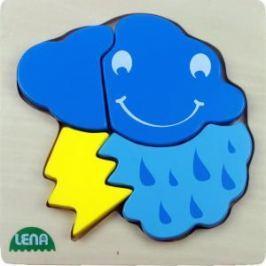LENA - Dřevěné puzzle - Bouřka