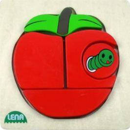 LENA - Dřevěné puzzle - Jablko
