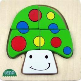 LENA - Dřevěné puzzle - Houba