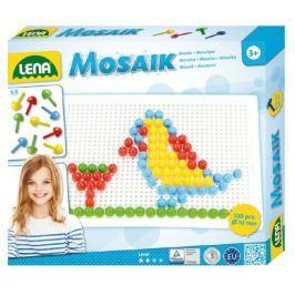 Lena Mozaika klobouček 1cm hladký 100ks v krabici