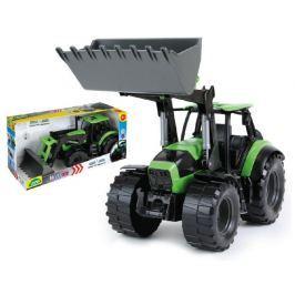 Lena Traktor se lžící DeutzFahr Agrotron 7250 plast 45cm 1:15 v krabici od 3 let