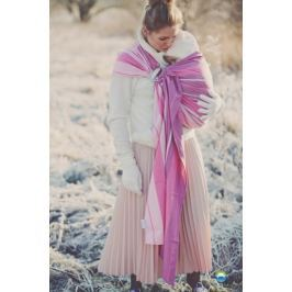 LITTLE FROG Tkaný šátek na nošení dětí -  KUNZYT, XL