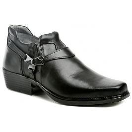 Koma 1026 černé pánské westernové boty, 43