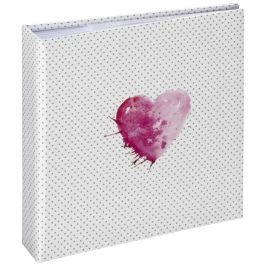 Hama album memo LAZISE 10x15/200, růžová, popisové pole