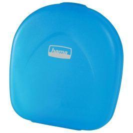 HAMA CD Case 24, modrá transparentní