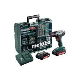 Metabo Aku vrtačka  BS 18  MD 2x2,0 Ah