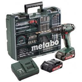 Metabo Aku vrtačka  SB 18 Set Mobilní dílna 2x2,0Ah