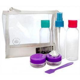 Sefiros Cestovní sada lahviček na kosmetiku (Travel set) 7 ks