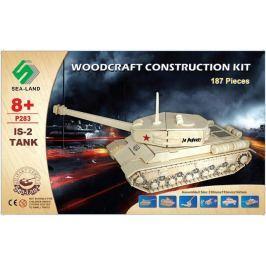 Dřevěná skládačka - Tank IS-2 P283