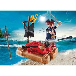 PLAYMOBIL 5655 Přenosný box: Pirát na voru