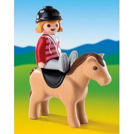 PLAYMOBIL 6973 Jezdkyně s koněm (1.2.3)